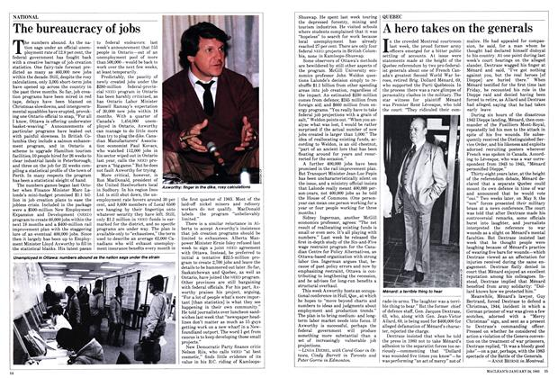 Article Preview: The bureaucracy of jobs, January 1983 | Maclean's