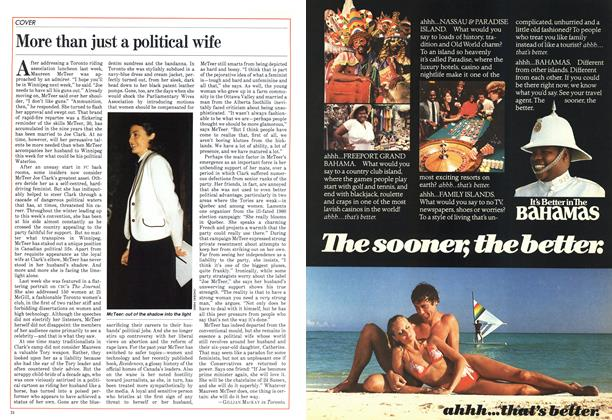 Article Preview: More than just a political wife, January 1983 | Maclean's