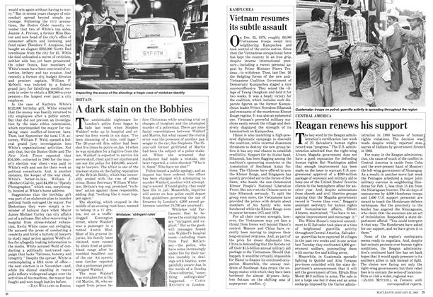 Article Preview: A dark stain on the Bobbies, January 1983 | Maclean's
