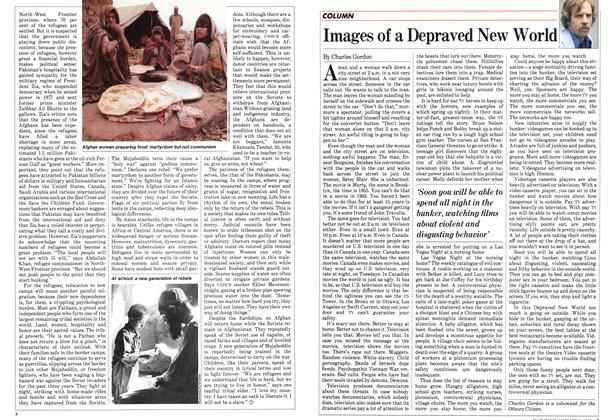Article Preview: Images of a Depraved New World, January 1983 | Maclean's