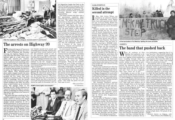 Article Preview: The arrests on Highway 99, January 1983 | Maclean's