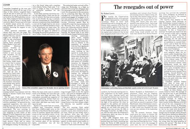 Article Preview: The renegades out of power, February 1983 | Maclean's
