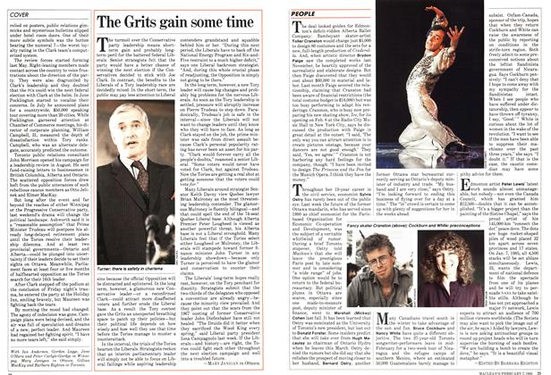 Article Preview: The Grits gain some time, February 1983 | Maclean's