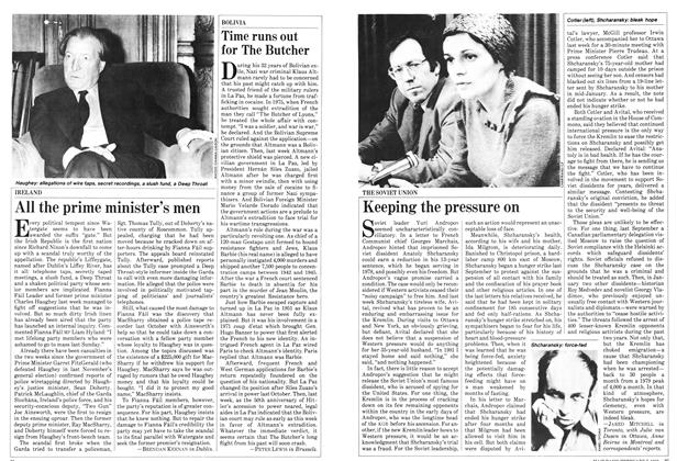Article Preview: All the prime minister's men, February 1983 | Maclean's
