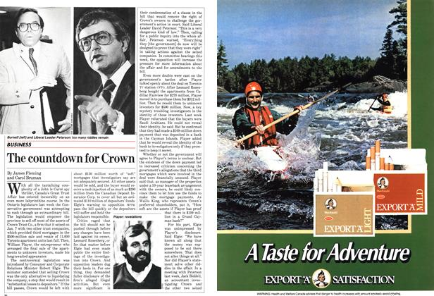Article Preview: The countdown for Crown, February 1983 | Maclean's