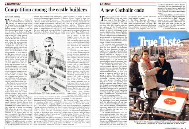 Article Preview: A new Catholic code, February 1983 | Maclean's