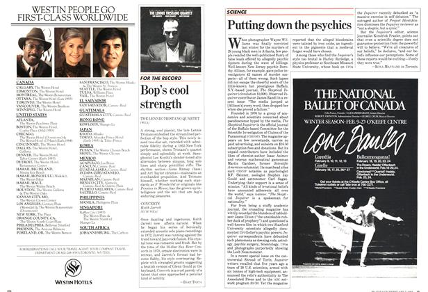Article Preview: Putting down the psychics, February 1983 | Maclean's