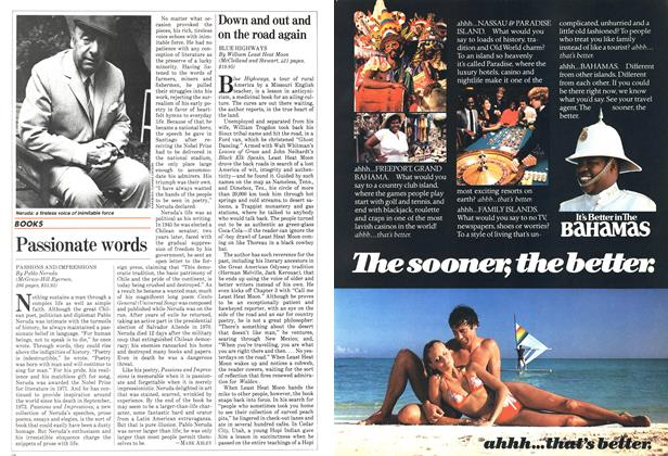 Article Preview: Down and out and on the road again, February 1983 | Maclean's