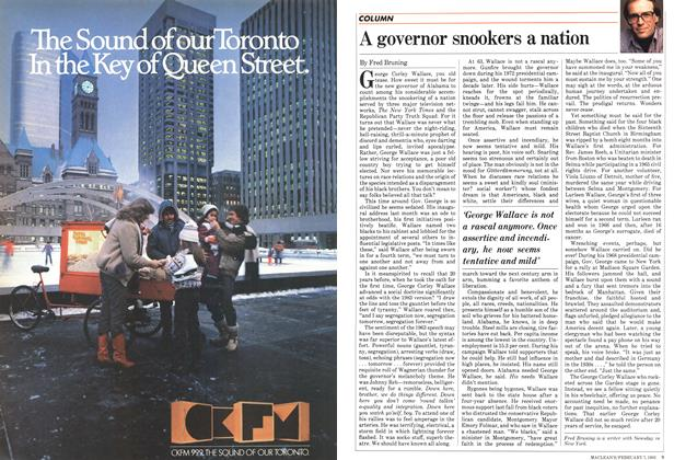 Article Preview: A governor snookers a nation, February 1983 | Maclean's