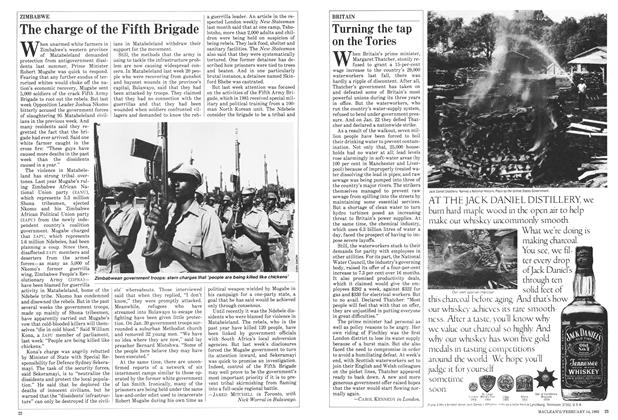 Article Preview: The charge of the Fifth Brigade, FEBRUARY 14,1983 1983 | Maclean's