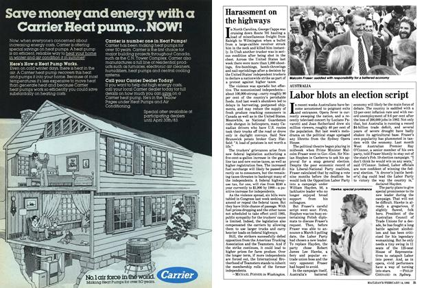 Article Preview: Harassment on the highways, FEBRUARY 14,1983 1983 | Maclean's