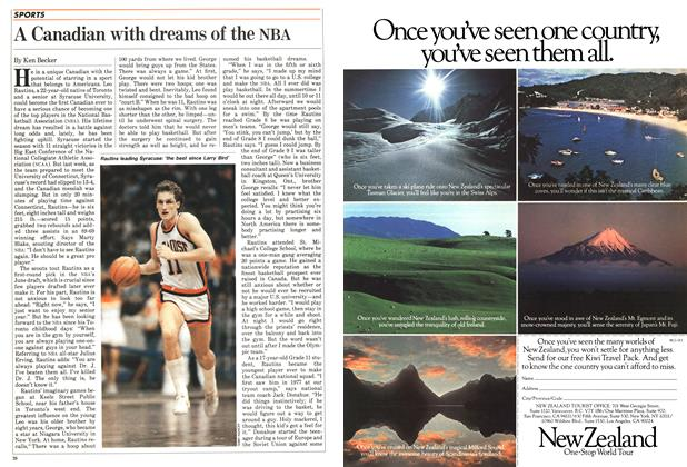 Article Preview: A Canadian with dreams of the NBA, FEBRUARY 14,1983 1983 | Maclean's
