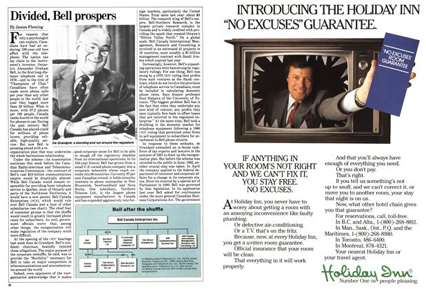Article Preview: Divided, Bell prospers, FEBRUARY 14,1983 1983 | Maclean's