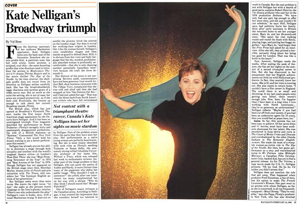 Article Preview: Kate Nelligan's Broadway triumph, FEBRUARY 14,1983 1983 | Maclean's