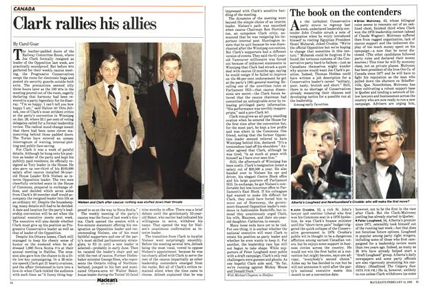 Article Preview: Clark rallies his allies, FEBRUARY 14,1983 1983 | Maclean's