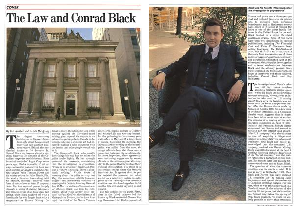 Article Preview: The Law and Conrad Black, February 1983 | Maclean's