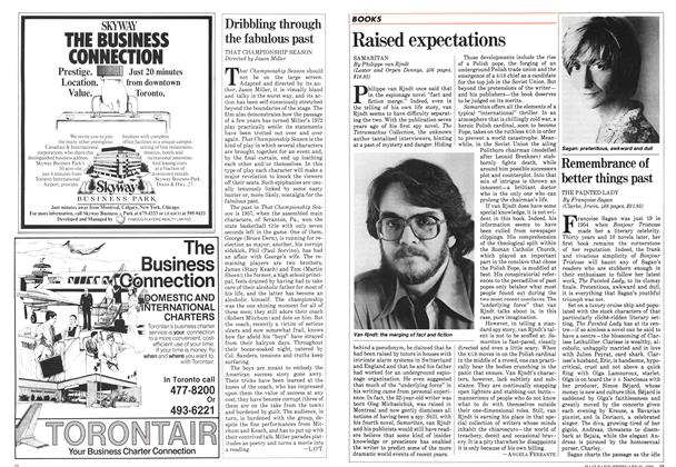 Article Preview: Raised expectations, February 1983 | Maclean's
