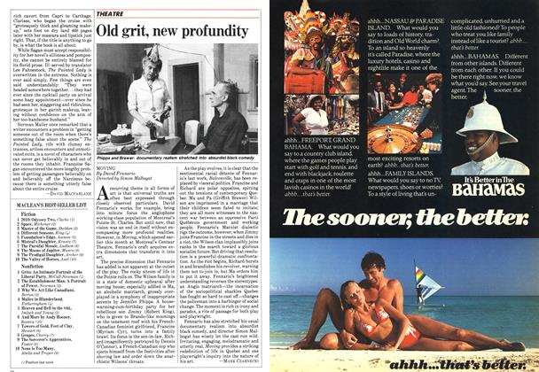 Article Preview: Old grit, new profundity, February 1983 | Maclean's