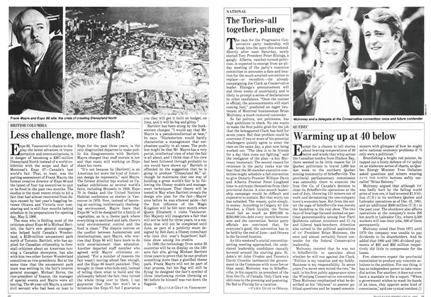 Article Preview: Warming up at 40 below, February 1983 | Maclean's