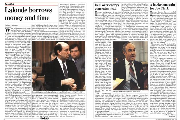 Article Preview: Deal over energy generates heat, FEBRUARY 28,1983 1983 | Maclean's