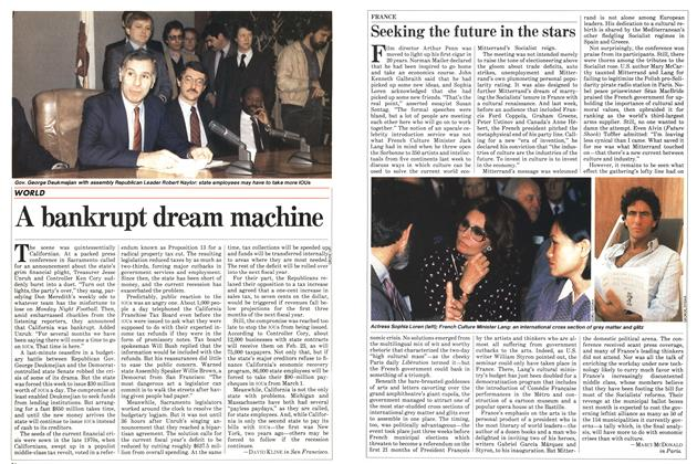 Article Preview: A bankrupt dream machine, FEBRUARY 28,1983 1983 | Maclean's