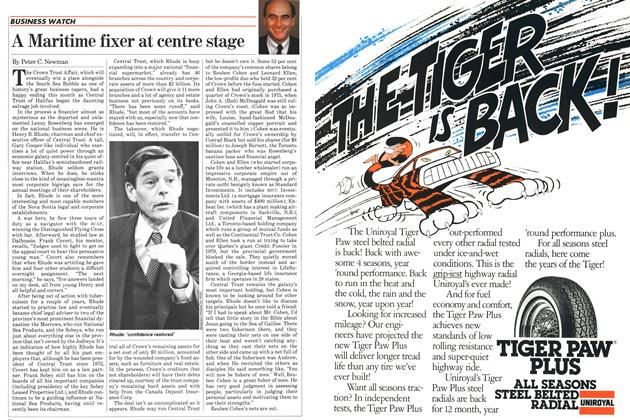 Article Preview: A Maritime fixer at centre stage, FEBRUARY 28,1983 1983 | Maclean's