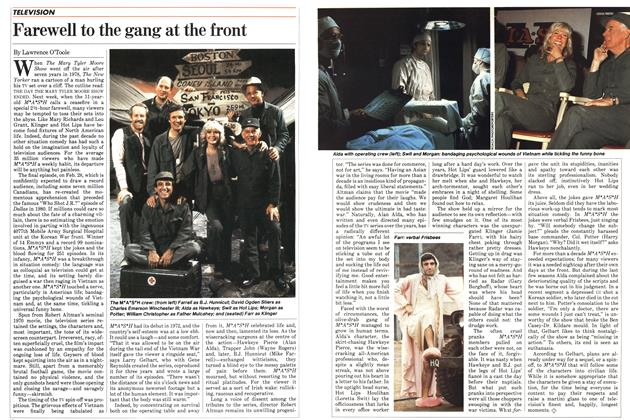 Article Preview: Farewell to the gang at the front, FEBRUARY 28,1983 1983 | Maclean's