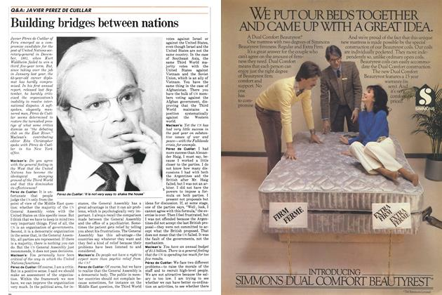 Article Preview: Building bridges between nations, FEBRUARY 28,1983 1983 | Maclean's