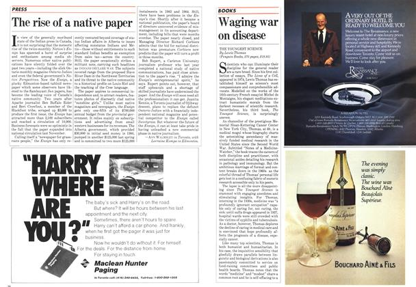 Article Preview: The rise of a native paper, March 1983 | Maclean's