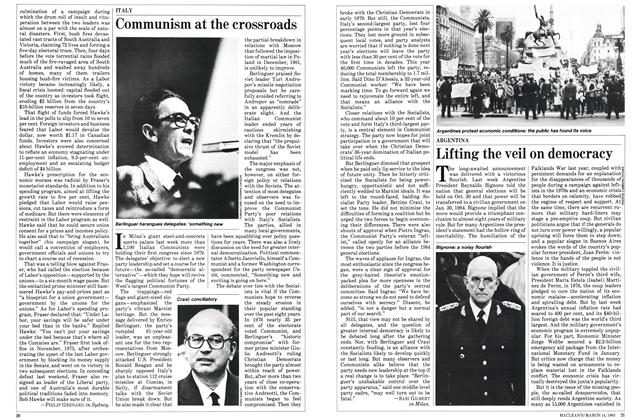 Article Preview: Communism at the crossroads, March 1983 | Maclean's