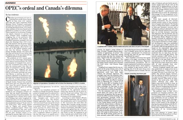 Article Preview: OPEC's ordeal and Canada's dilemma, March 1983 | Maclean's