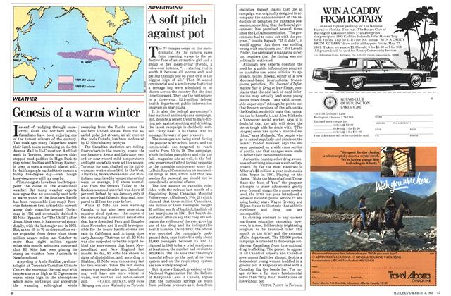 Article Preview: Genesis of a warm winter, March 1983 | Maclean's