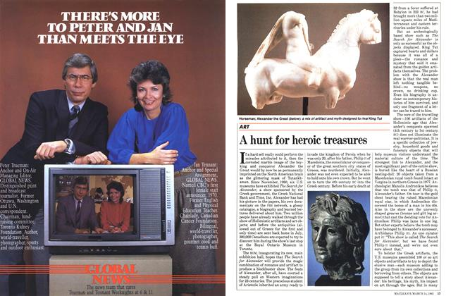 Article Preview: A hunt for heroic treasures, March 1983 | Maclean's