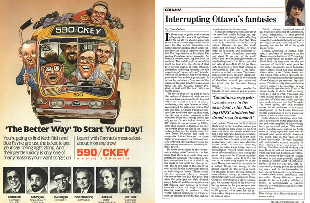 Article Preview: Interrupting Ottawa's fantasies, March 1983 | Maclean's