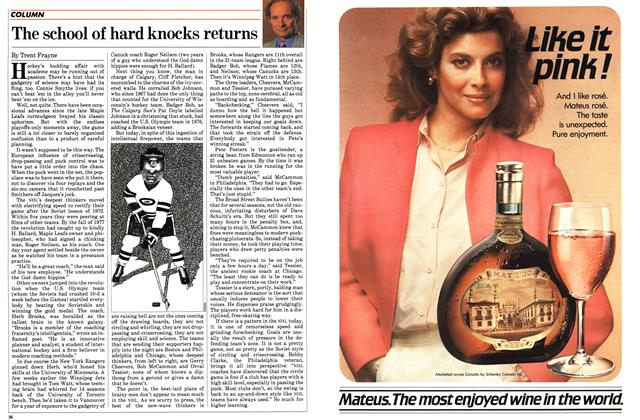 Article Preview: The school of hard knocks returns, March 1983 | Maclean's