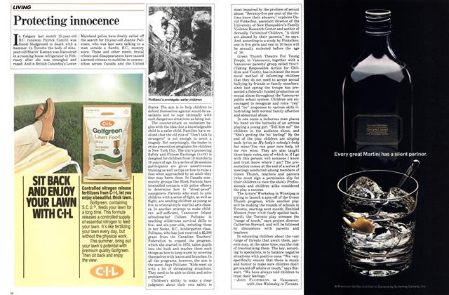 Article Preview: Protecting innocence, March 1983 | Maclean's