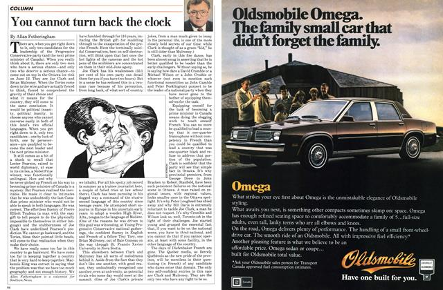 Article Preview: You cannot turn back the clock, March 1983 | Maclean's