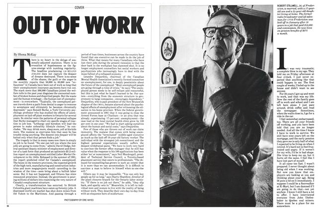 Article Preview: OUT OF WORK, March 1983 | Maclean's