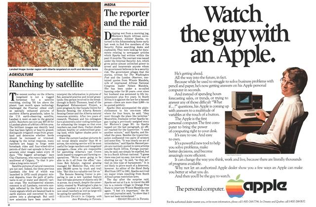 Article Preview: The reporter and the raid, March 1983 | Maclean's