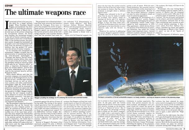 Article Preview: The ultimate weapons race, April 1983 | Maclean's
