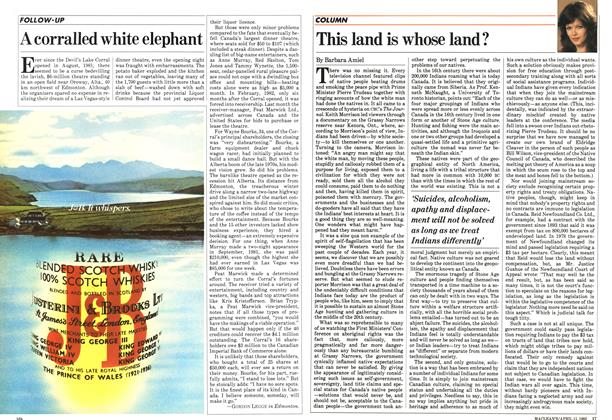 Article Preview: This land is whose land?, April 1983 | Maclean's