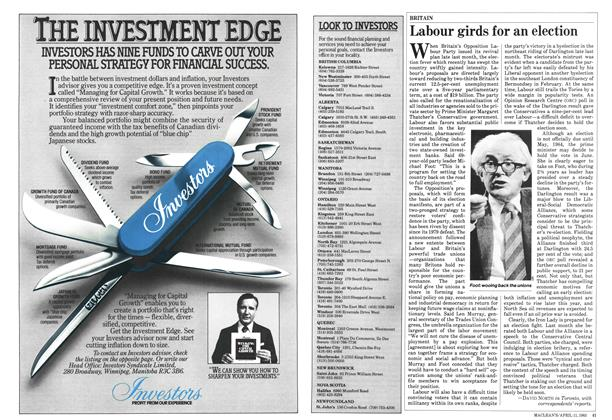Article Preview: Labour girds for an election, April 1983 | Maclean's