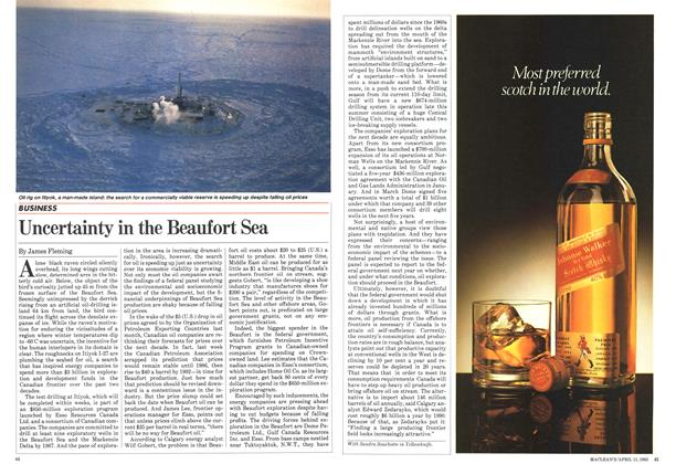 Article Preview: Uncertainty in the Beaufort Sea, April 1983   Maclean's
