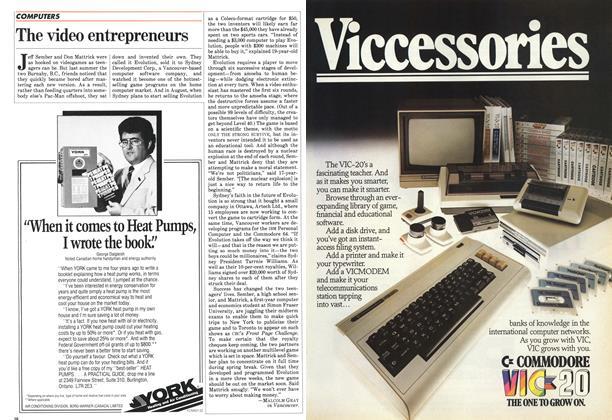 Article Preview: The video entrepreneurs, April 1983 | Maclean's