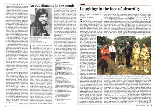 Article Preview: Laughing in the face of absurdity, April 1983 | Maclean's