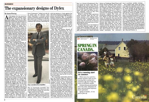Article Preview: The expansionary designs of Dylex, April 1983 | Maclean's