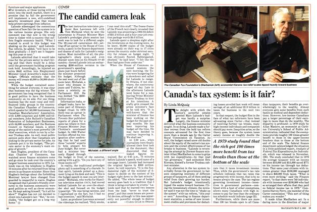 Article Preview: Canada's tax system: is it fair?, May 1983 | Maclean's