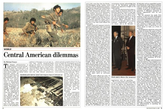 Article Preview: Central American dilemmas, May 1983 | Maclean's