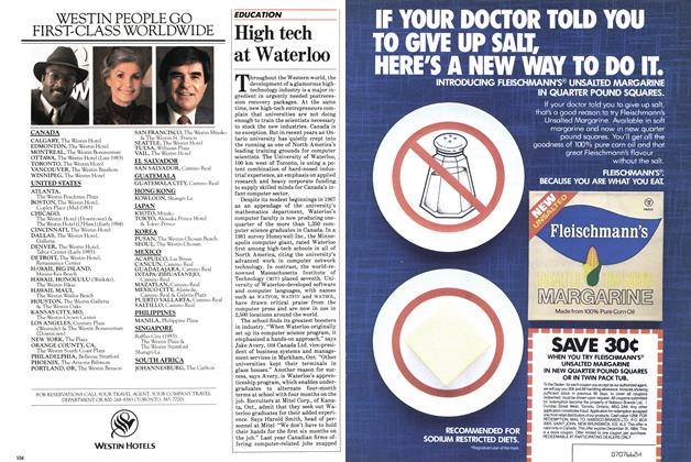 Article Preview: High tech at Waterloo, May 1983 | Maclean's