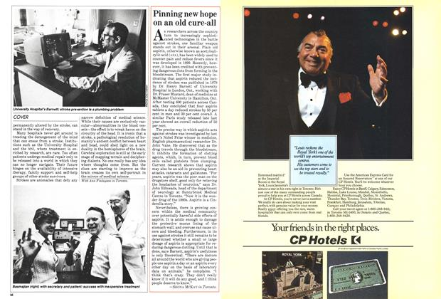 Article Preview: Pinning new hope on an old cure-all, May 1983 | Maclean's
